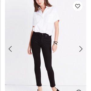 "Nwt Madewell 9"" Mid-Rise Skinny Jeans sz 24 #A32"